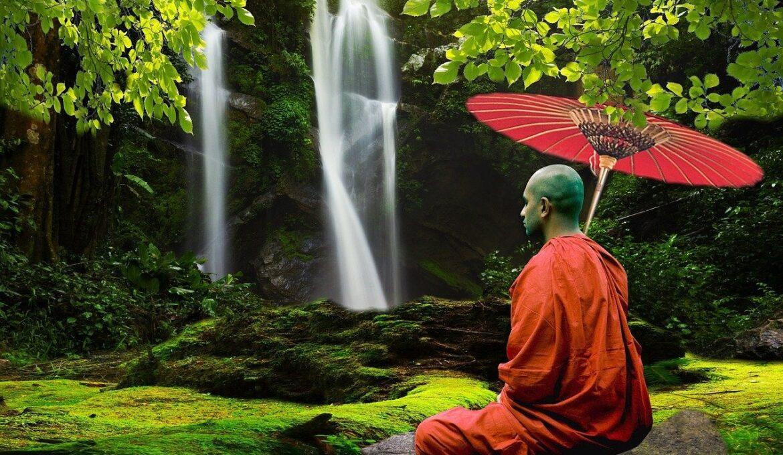 monnik boeddhist