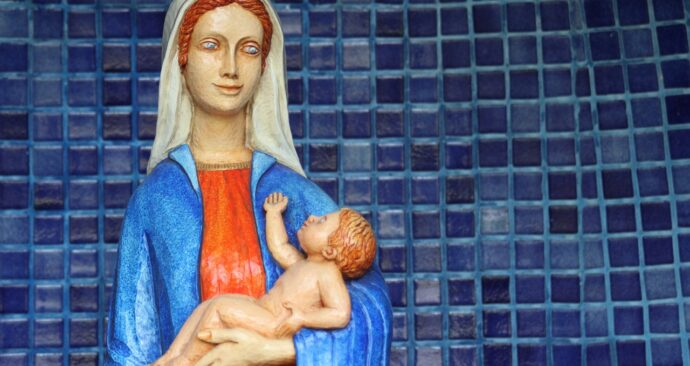mary-statue-1086219_1280