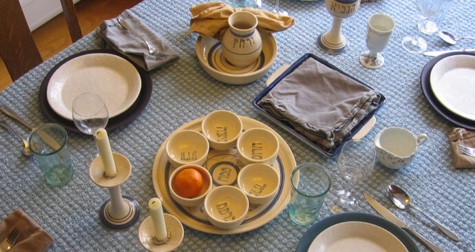 Seder-tafel