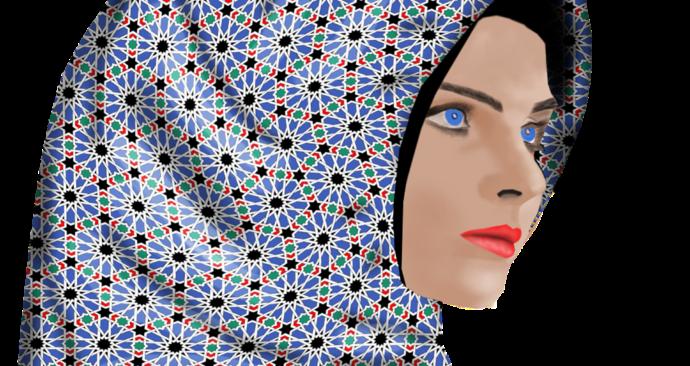 vrouw-hoofddoek
