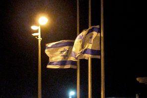 vlaggen halfstok
