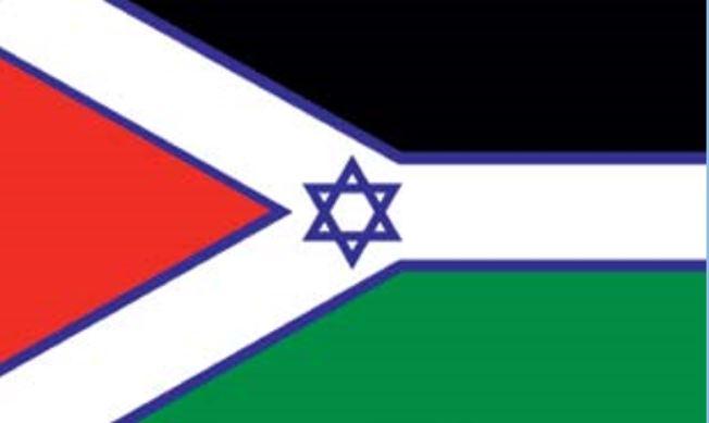 Israël-Palestina-vlag