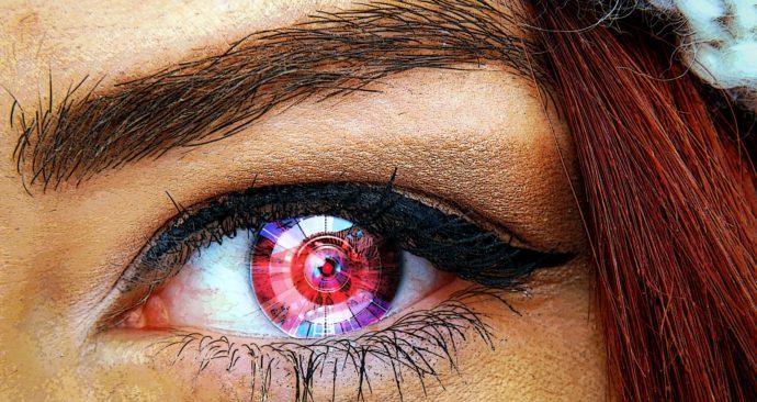 robot-oog