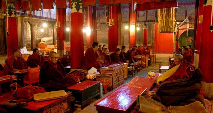 Boeddhisten-in-Tibet