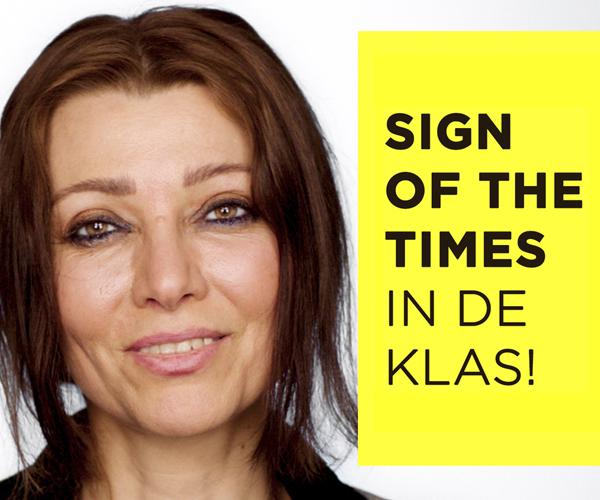 Sign of the Times in de klas. Het onderwijsprogramma voor burgerschap, levensbeschouwing en maatschappijleer.