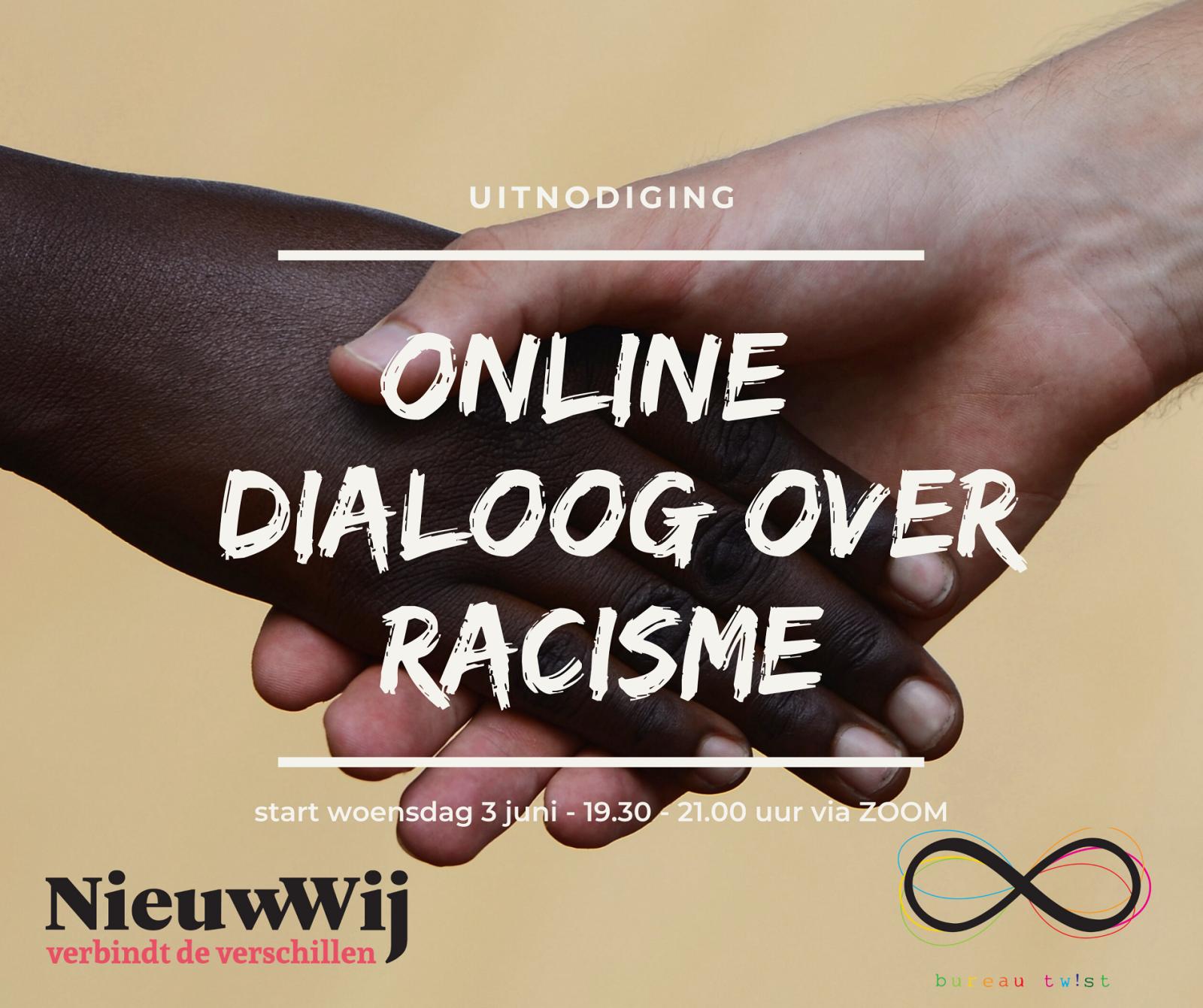 Uitnodiging online dialoog racisme 1