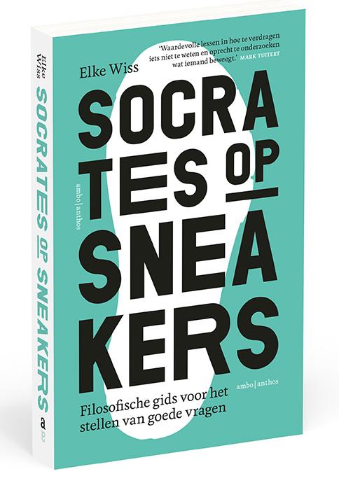 Elke Wiss-socrates op sneakers-boekcover
