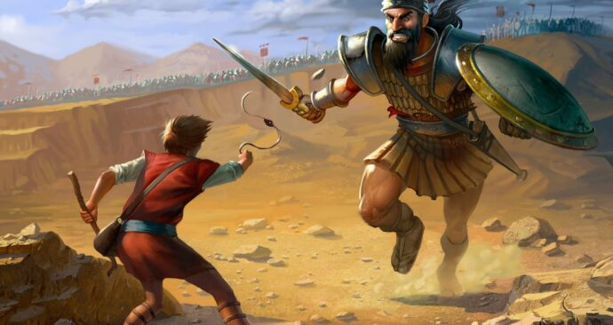 david-goliath by Erik Bragalyan