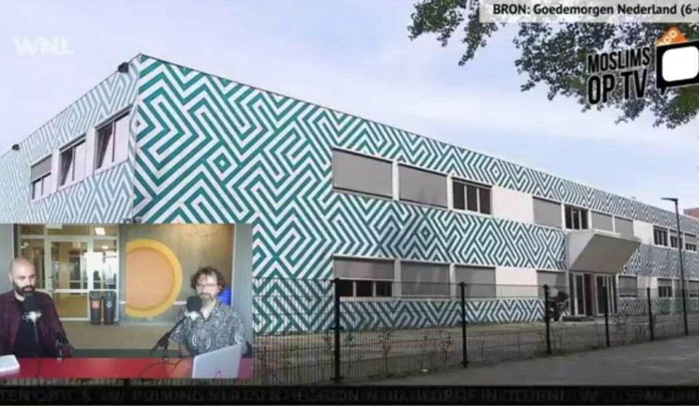 moslims op tv MdK 2 dragend beeld