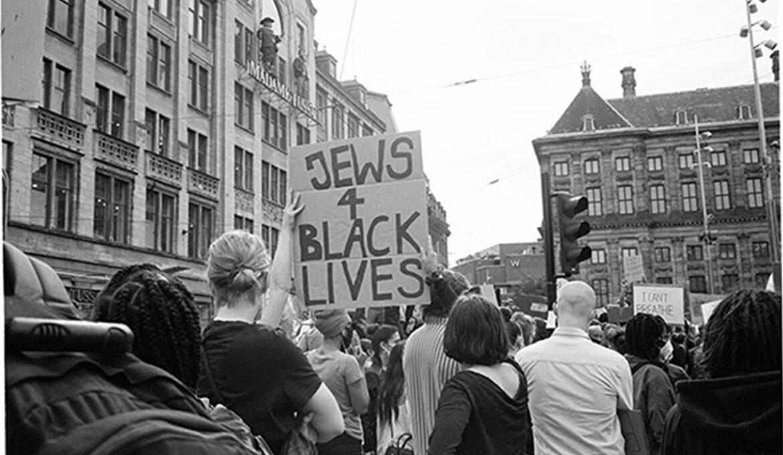 Protestbord-joden-black-lives