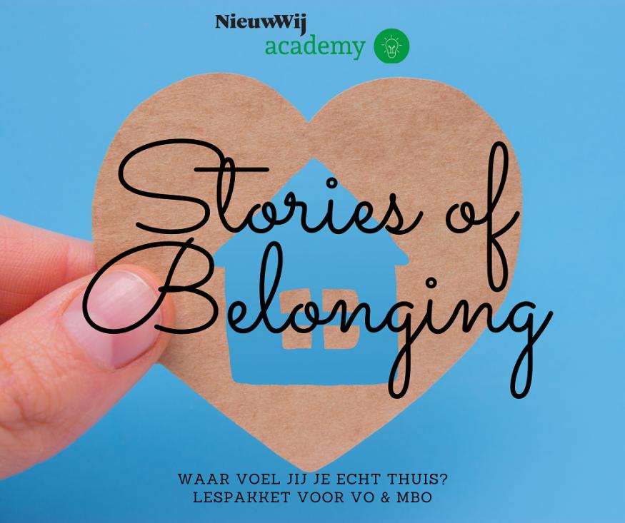 Stories of Belonging plaatje lessen
