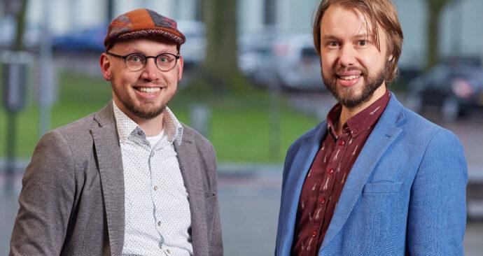 Foto van Matthias Olthaar en Paul Schenderling