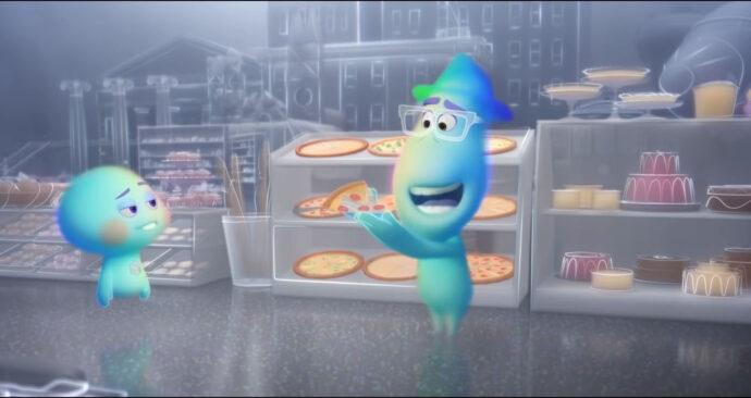 Screenshot uit de trailer van Soul