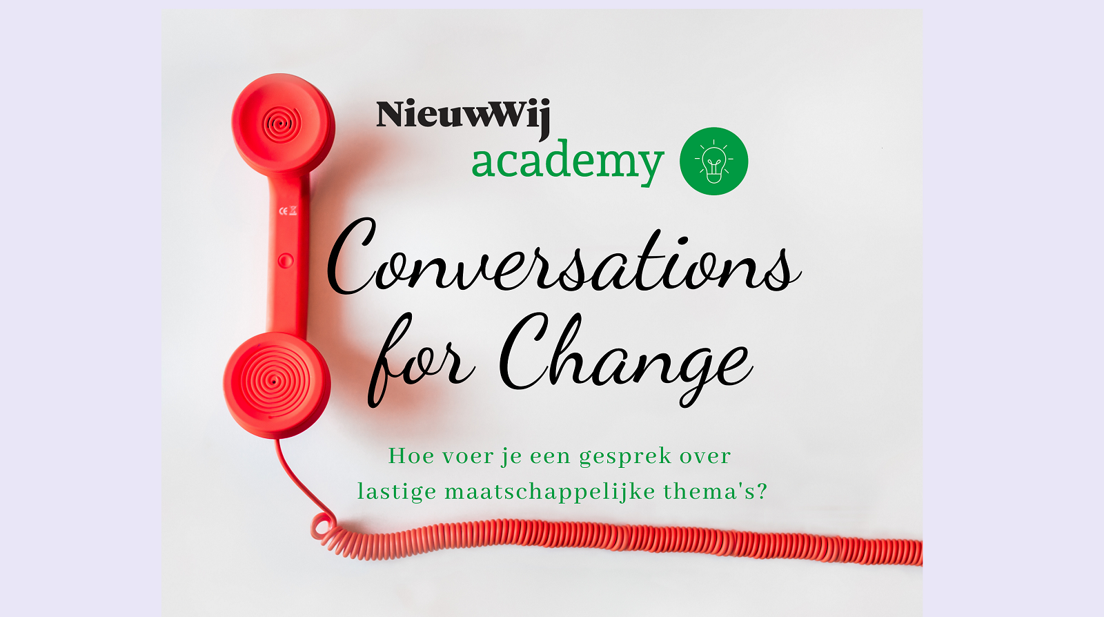 Conversations for change DOSSIER afb