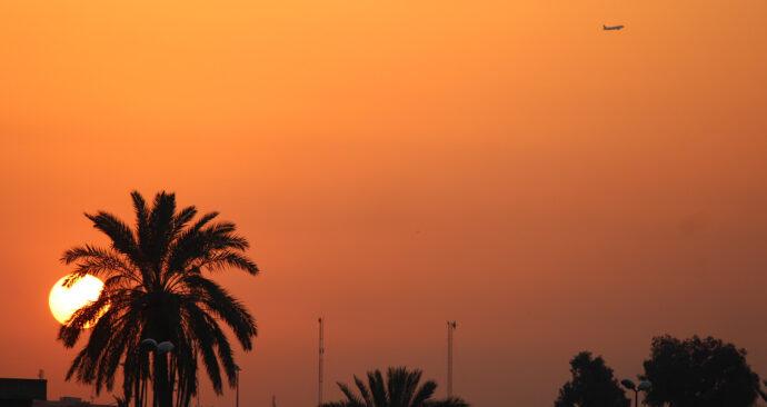 zonsondergang-irak
