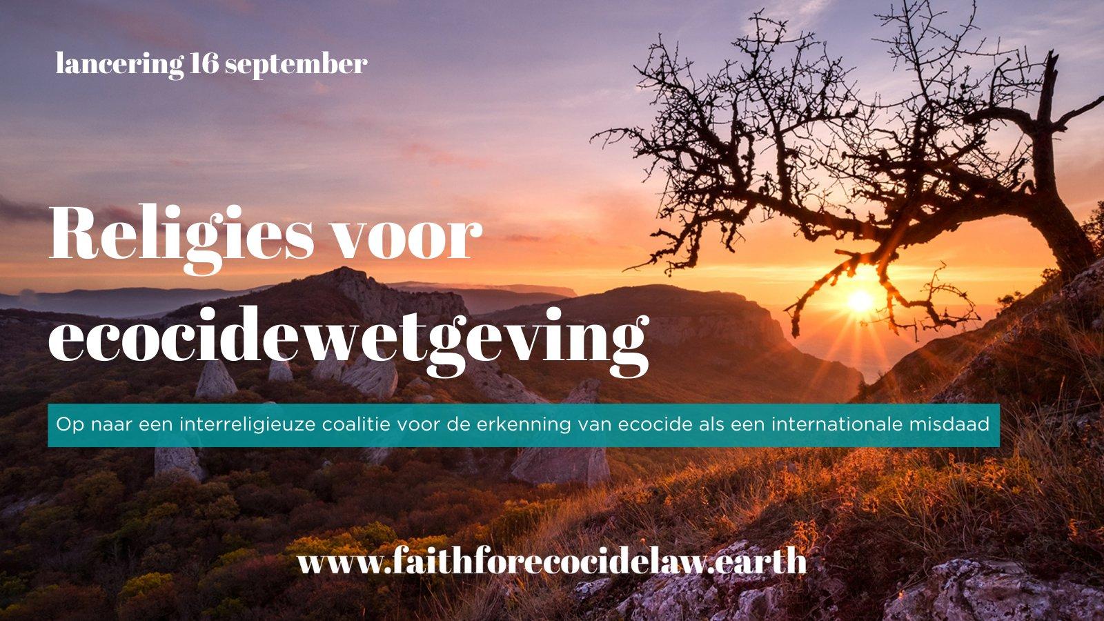 religies voor ecowetgeving