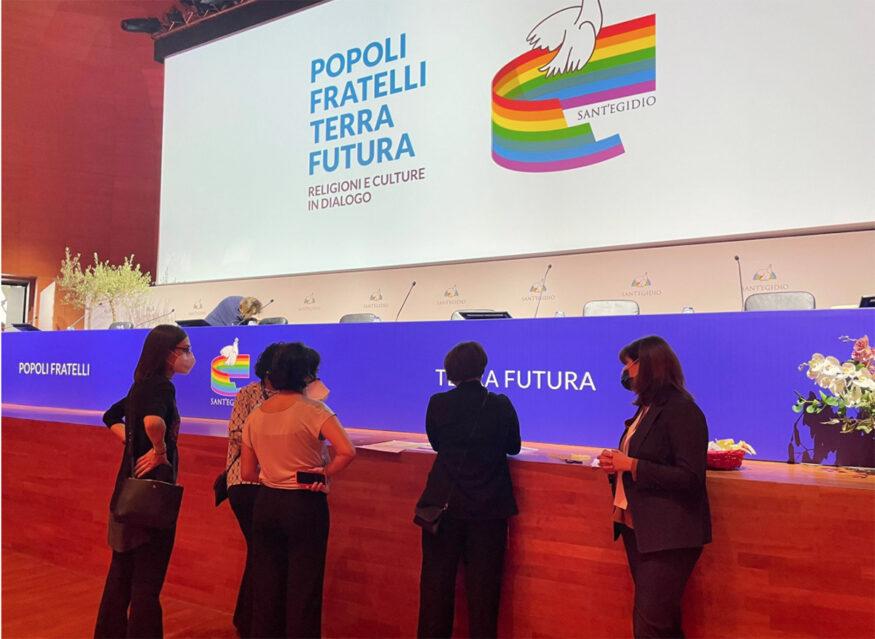 BACKSTAGE_Incontro_internazionale_Popoli_Fratelli_Terra_Futura_Religioni_e_Culture_in_Dialogo_ROMA_67_ottobre_2021_1